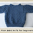 Textured Baby Sweater