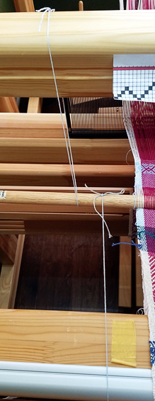 strings to stabalize dowel