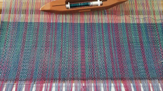 Teal shawl