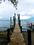 Dock at Jaibalito, Lake Atitlan
