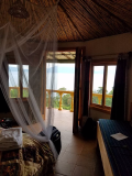 Accomodations at Lake Atitlan.