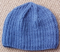 Finished Knitting Projects  Shaker Rib Hat d8e076affb3