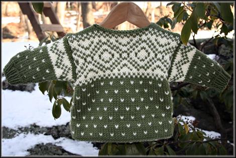 Classic Baby Sweater